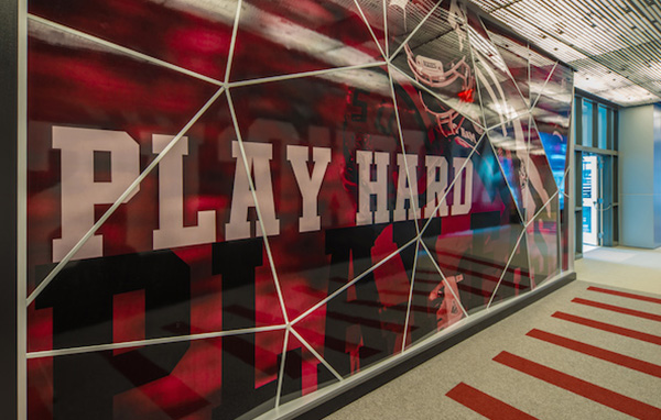 Graphic Design Activates, Enlivens Sports Stadiums