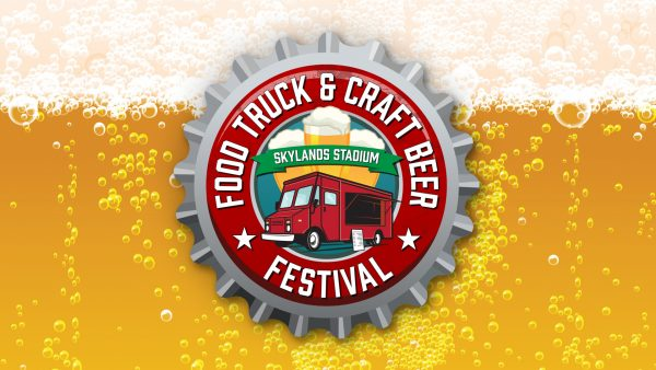 Logo created for Skylands Stadium's Food Truck & Craft Beer Festival.