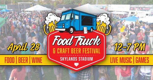 Television commercial for Skylands Stadium's Food Truck & Craft Beer Festival.…