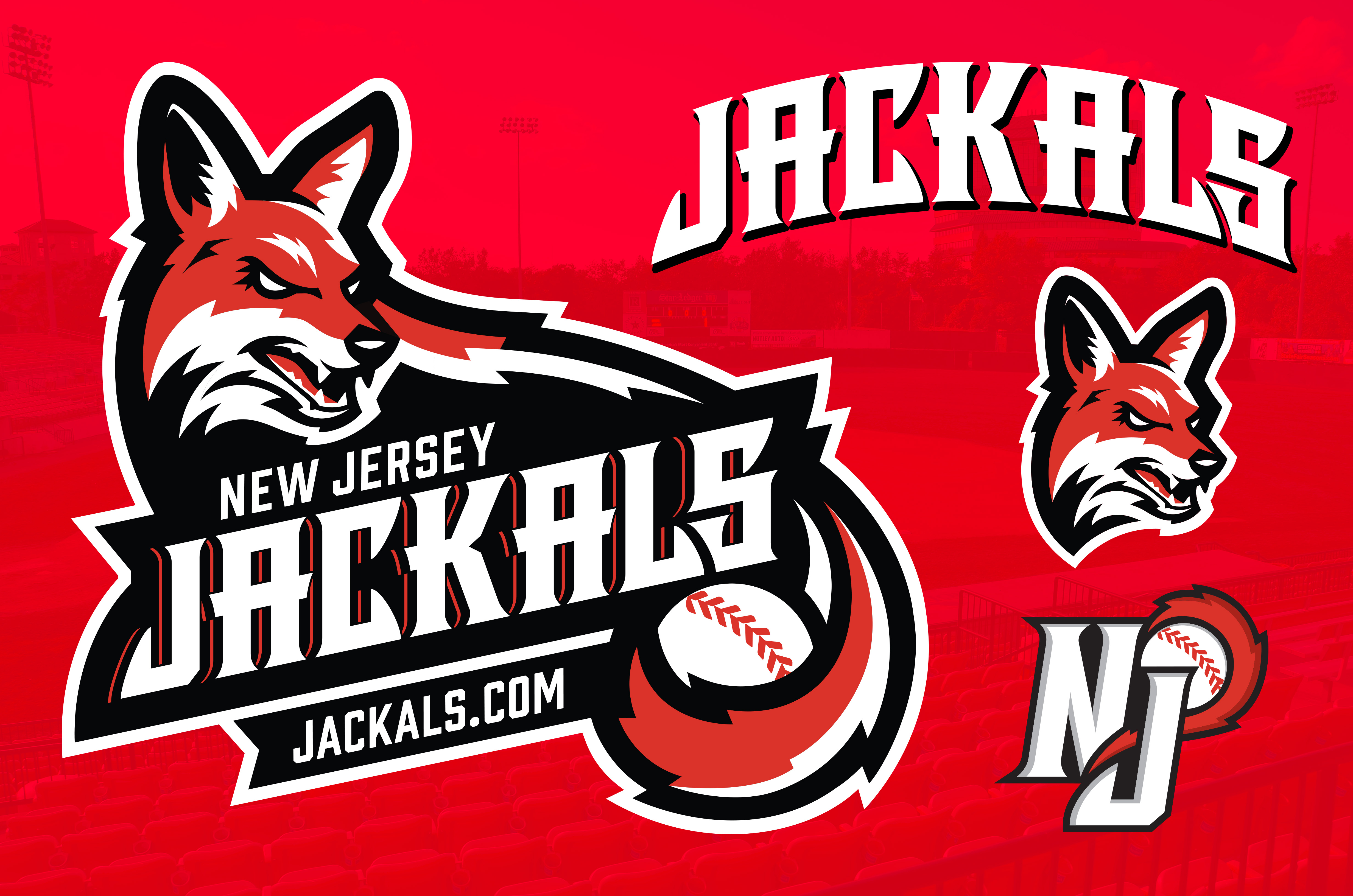 Refreshed New Jersey Jackals' brand identity.…