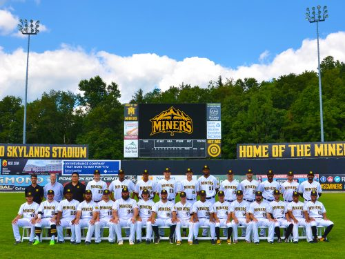 Sussex County Miners Team Photo